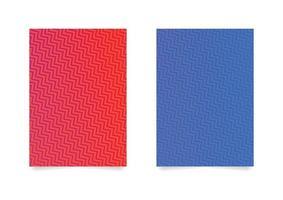 Zig Zag Pattern Background Set vector