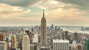 día de la ciudad de nueva york hasta el atardecer video