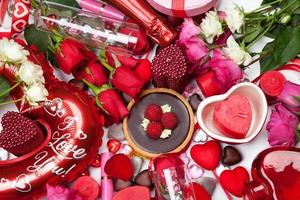 Assorted Gifts and Treats for Valentine