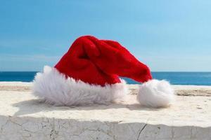 Santa hat photo