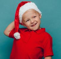 Child christmas portrait