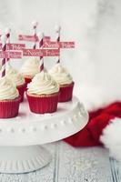 cupcakes polo norte foto