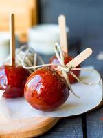 Candy apple, Christmas dessert