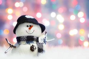 muñeco de nieve festivo