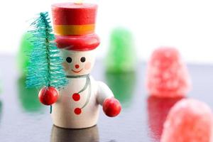 Snowman with Gumdrops