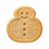 galleta de navidad muñeco de nieve foto