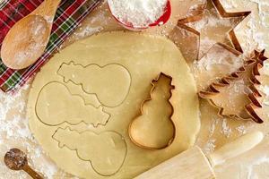 Sugar Cookies Ingredients and Cutters