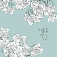 patrón de flor de magnolia