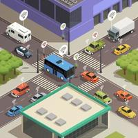 Isometric smart city technology