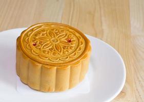 Durian moon cakes during Autumn Festival photo