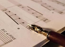 Writing Music photo