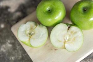 Green apple ripe, Green apples composition-still life
