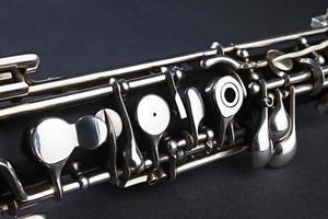 Oboe musical instrument detail