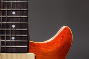 Vintage electric guitar photo