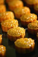 mooncake, postre para el festival tailandés chino del medio otoño.