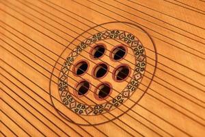 strings of the bandura