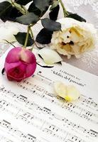 Page of operatic score