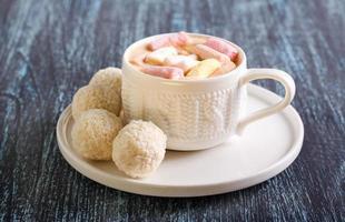 Coconut balls candies