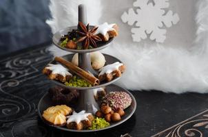 Cakestand Christmas Cookies