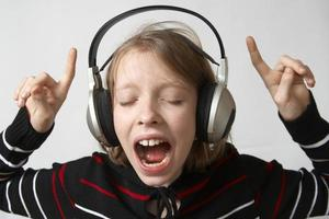 Listen to music photo