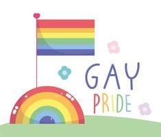 Gay pride poster design