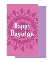 Pink mandala background with lettering  vector