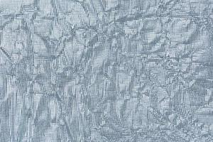 Wrinkled silver paper background