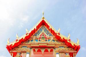 temple roof Phuket, Thailand