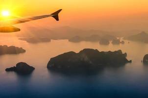 Phang Nga Bay at Sunset - Thailand Nature Wonders photo