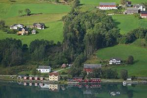 Nordfjord Landscape, Cruise Terminal Olden photo