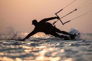 Kitesurfing photo