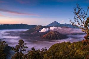 bromo indonesia foto