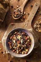 Raw Organic Homemade Trail Mix