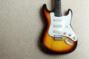 hermosa guitarra electrica foto