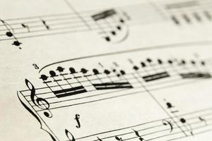 sheet music abstract