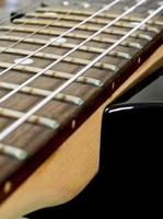 Electric Guitar Fretboard photo