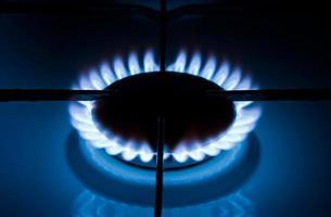 Burning gas photo
