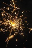 bright sparklers