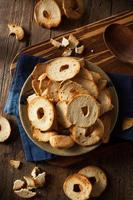 Homemade Whole Wheat Bagel Chips photo
