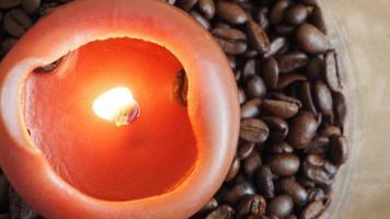 Kaffee & Kerze photo