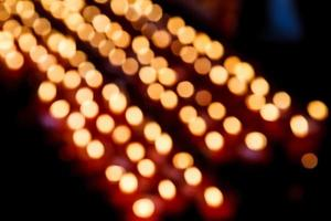 Several candles photo