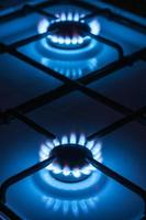 two gas burner photo