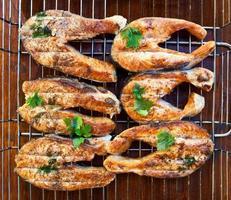 filetes de salmón a la plancha