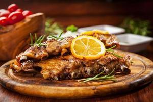 BBQ spare ribs photo