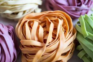 Colorful noodle photo