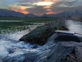 irrigación foto