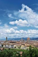 Vertical view of Florence