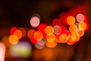 Blurred abstract lights bokeh