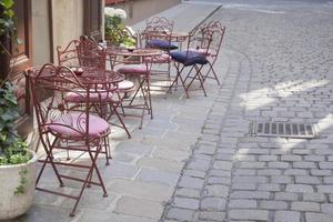 Cafe Table and Chairs, Vienna