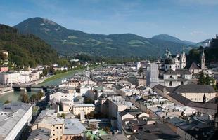 Cityscape of Salzburgh, Austria photo